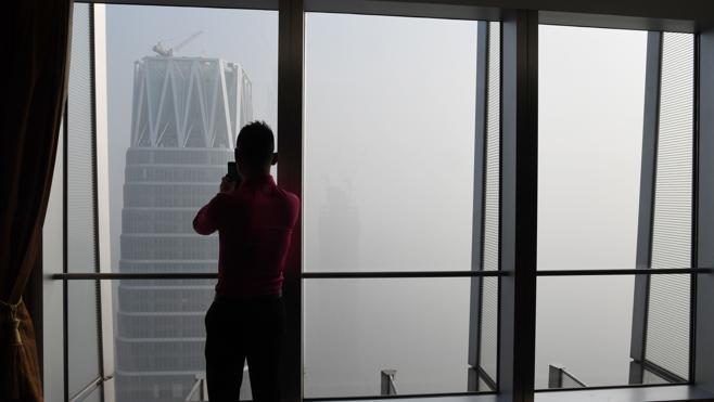 Pekín empieza el 2017 bajo una espesa capa de contaminación