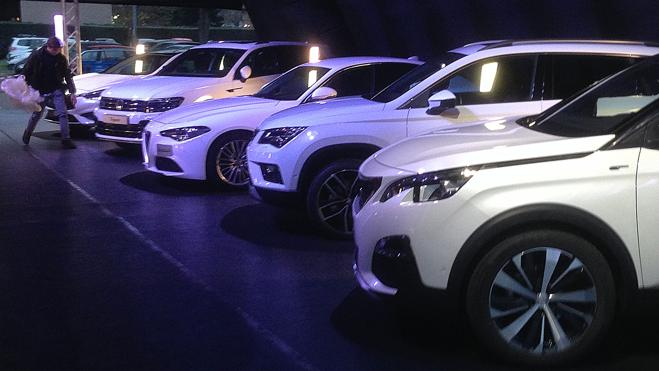 El número de vehículos asegurados en España creció un 2,45% en 2016