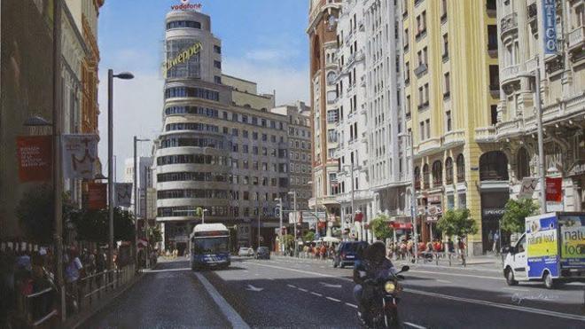La Gran Vía de Madrid comenzará esta año sus obras para restringir el tráfico