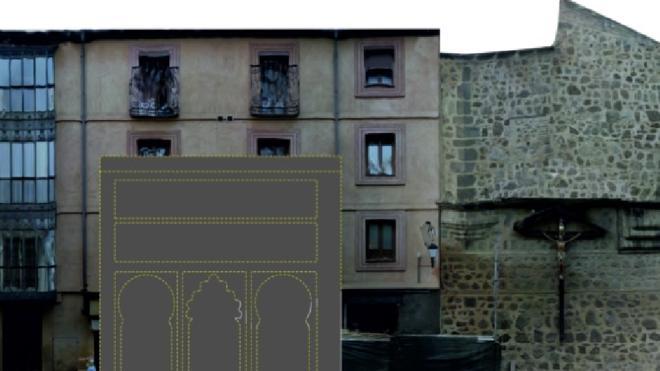 Aparece una mezquita medieval en las obras de una panadería de Toledo
