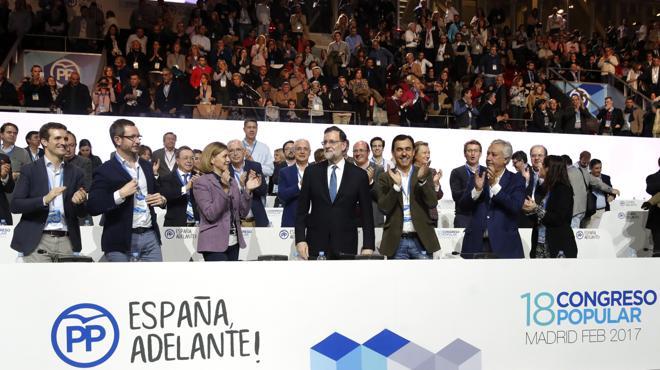 Sáenz de Santamaría: «Creo que tenemos a un Rajoy muy fuerte»