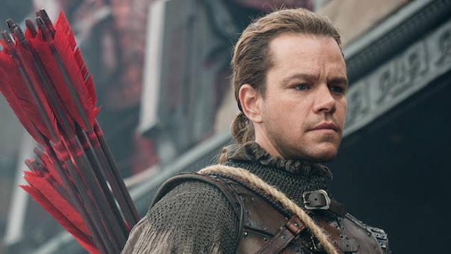 Matt Damon libra su última batalla sobre la Gran Muralla