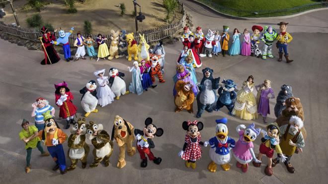 Mickey y Minnie renuevan sus votos en París