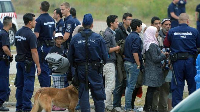 El Parlamento de Hungría aprueba la detención de los solicitantes de asilo