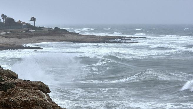La lluvia caída en Alicante bate récords