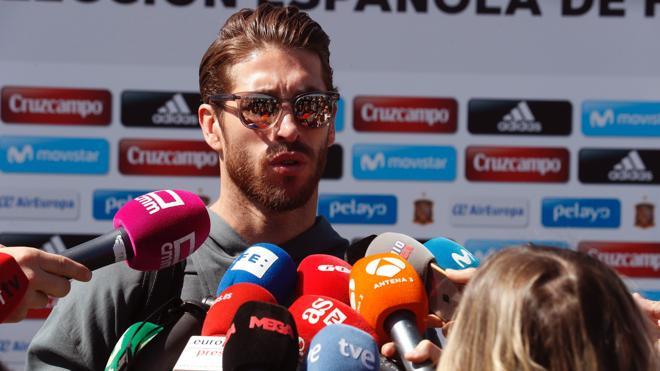 Ramos: «A Piqué y a mí nos gusta tirarnos alguna piedrecita»