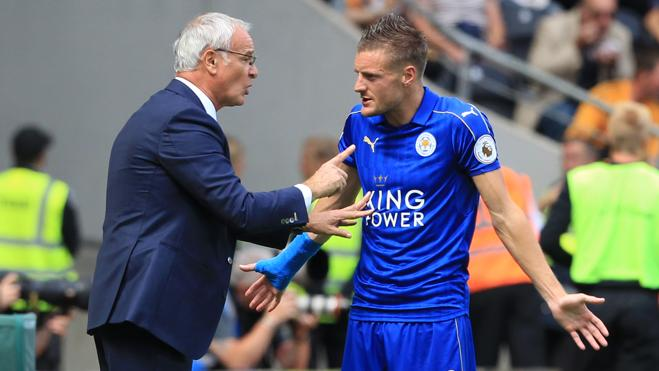 Vardy recibe amenazas de muerte tras la marcha de Ranieri