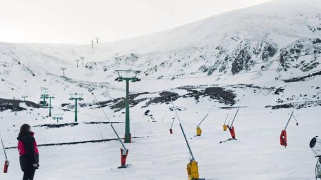 El regreso inesperado de la nieve en Valdezcaray