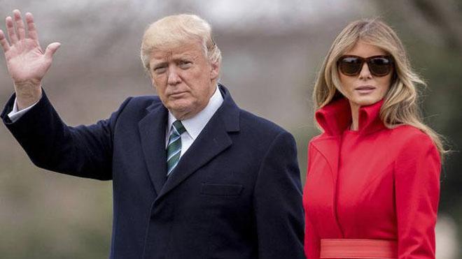 Donald y Melania Trump no duermen en la misma cama