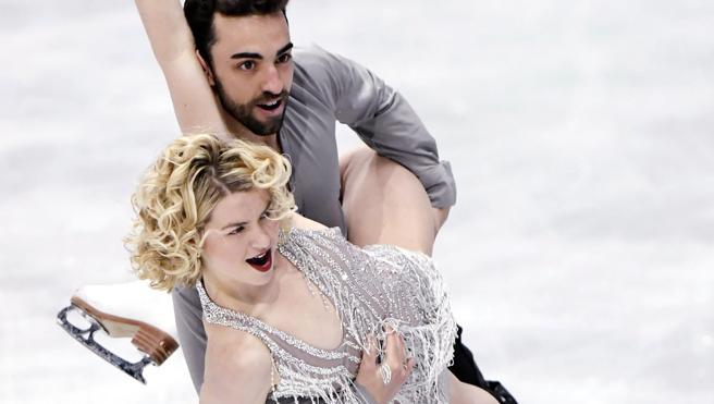 Adrià Díaz y Olivia Smart se meten en la final de danza por parejas