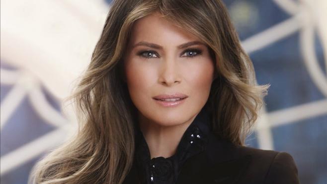 El primer retrato oficial de Melania Trump
