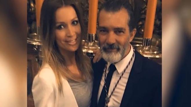 Antonio Banderas no olvida a Melanie en Semana Santa
