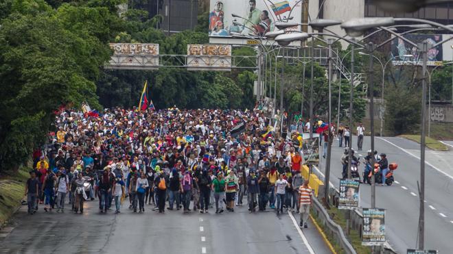 La oposición eleva a seis la cifra de muertos en las protestas contra el Gobierno venezolano