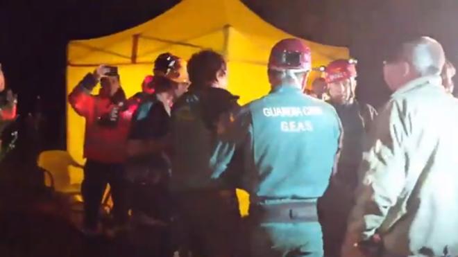 Rescatan con vida al espeleólogo perdido el sábado en una cueva de Mallorca