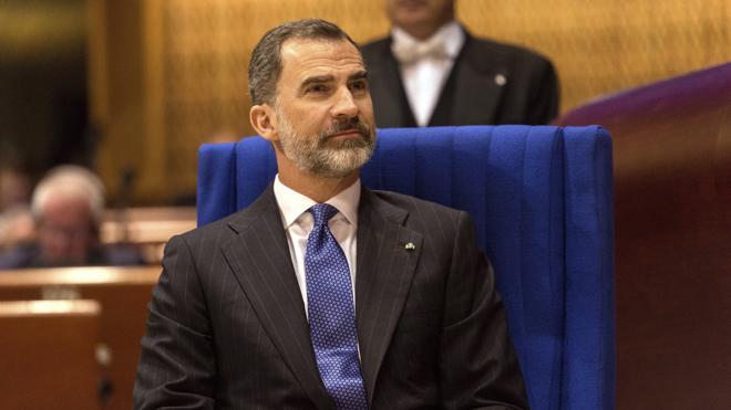 El Rey apoya una España «unida y plural» dentro de una Europa que «no dé pasos atrás»