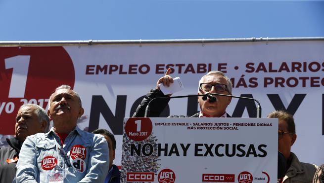 Los sindicatos vaticinan un «calvario» si los empresarios no suben los salarios