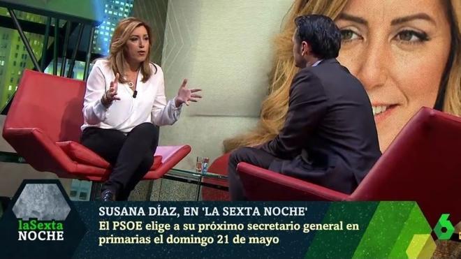 Susana Díaz: «Lo que ocurrió en el Comité de octubre fue una derrota de Pedro Sánchez»