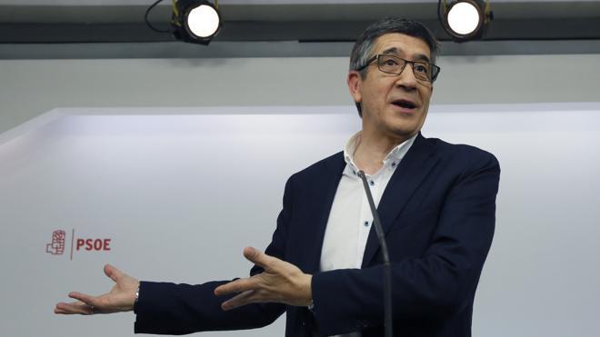 Patxi López: «En el debate hubo dos candidatos anclados en buscar culpables»