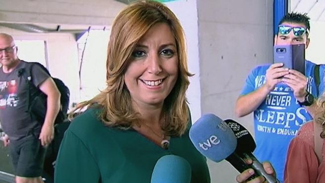 Susana Díaz adelanta las primarias del PSOE andaluz
