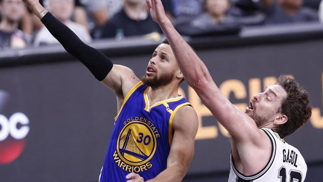 Curry y Durant despierta a Pau Gasol y a los Spurs del sueño del anillo