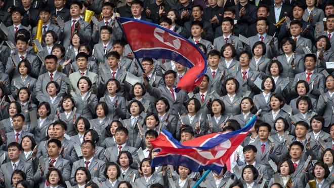 Corea del Sur disparó a varios globos con propaganda norcoreana en la frontera