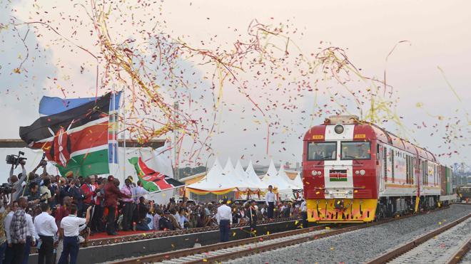 Kenia inaugura la gran línea ferroviaria de África Oriental