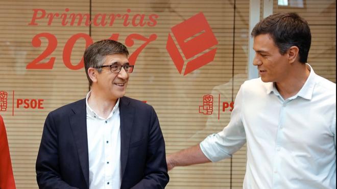 Sánchez da un primer paso para la reconciliación con Patxi López