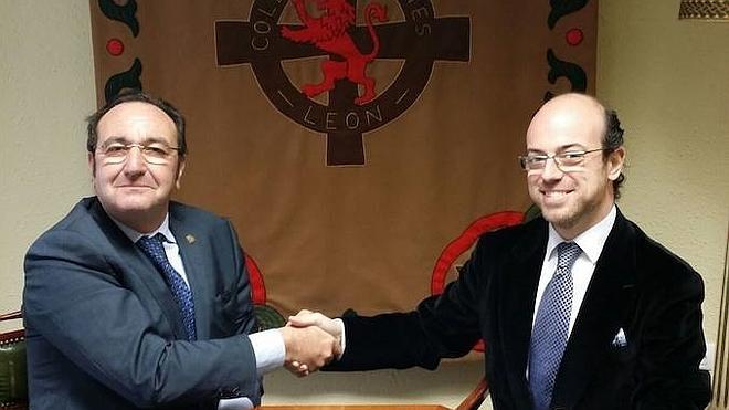 La Casa de León en Madrid y el Colegio Leonés firman un convenio de colaboración