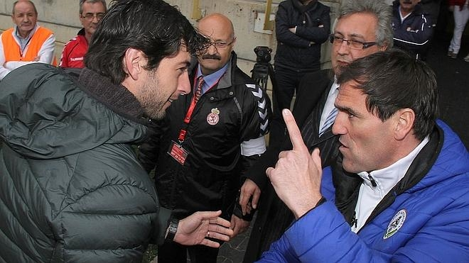 Paulino: «Aketxe ha intentado engañar al árbitro»