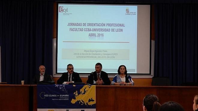 La Facultad de Biología de la ULE organiza unas jornadas de orientación profesional