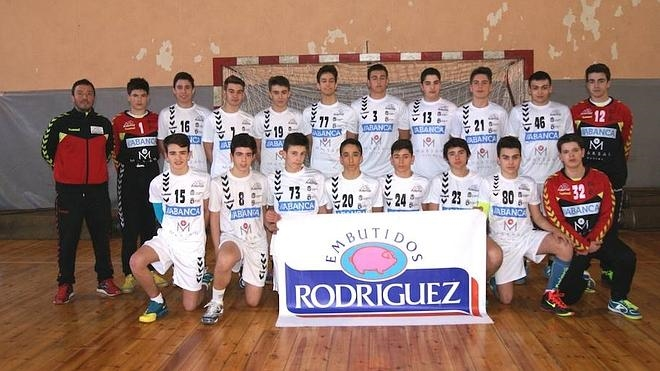 Embutidos Rodríguez patrocina al equipo cadete del Ademar en el Campeonato de Castilla y León