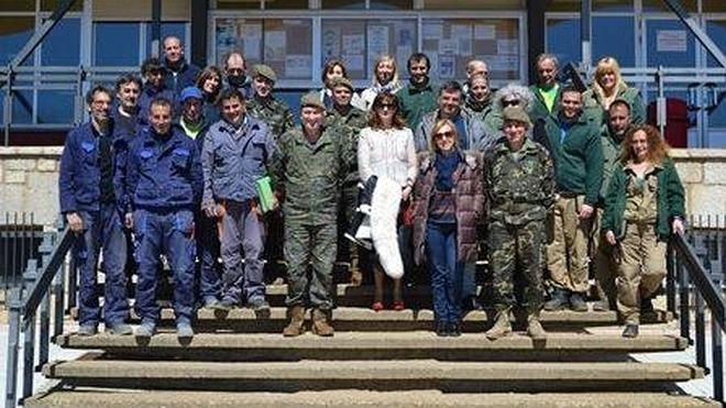 El Sepe inspecciona y controla el Taller de Empleo de la Base Militar Conde de Gazola
