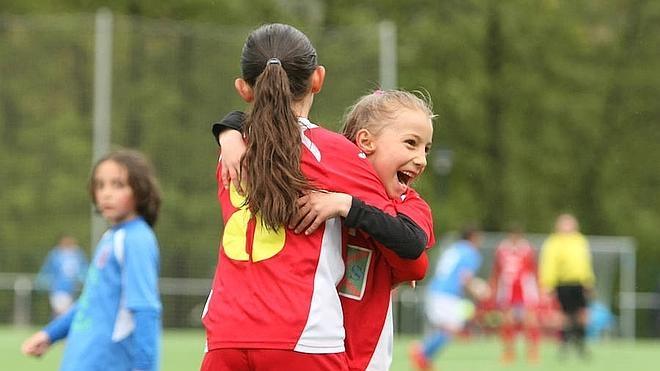 El fútbol también es cosa de niñas