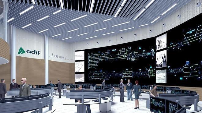 Adif no ve viable llevar el 'puesto de mando' al Centro de Regulación y Control creado para el AVE