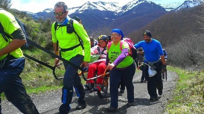 Fundación Global Nature acerca Picos de Europa a personas con movilidad reducida