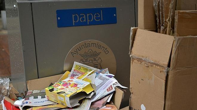 Ponferrada está por encima de la media de la UE en reciclaje de vidrio y cartón con 20 kilos por habitante al año