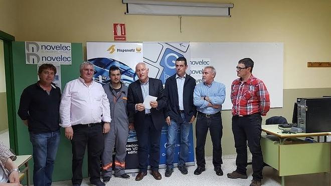 El leonés Ángel Fernández, un campeón en Instalaciones Eléctricas