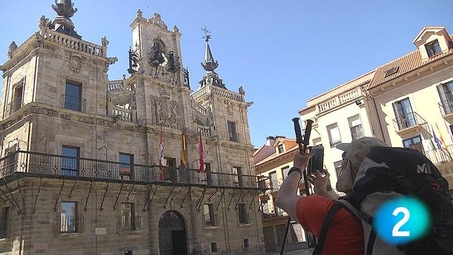 La serie de La 2 TVE del Camino de Santiago llega a Villadangos, San Justo y Astorga