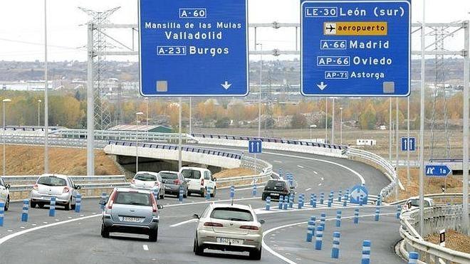 Las carreteras de Castilla y León recuperan tráfico de mercancías que crece casi al 7%