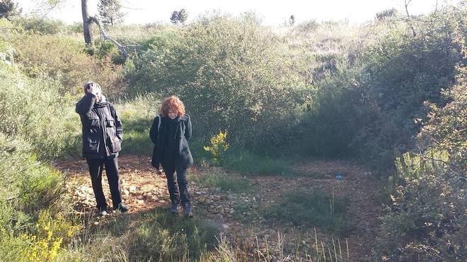 IU denuncia los vertidos líquidos en el enterramiento de basura de Ferral del Bernesga