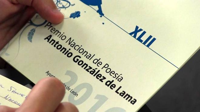 Cultura recupera el Premio Nacional de Poesía Antonio González de Lama