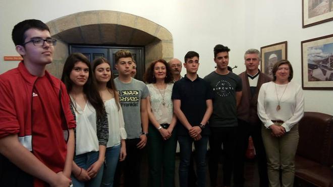 Ponferrada editará 5.000 trípticos de 'La ruta de las cinco iglesias' en colaboración con alumnos del IES Europa