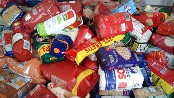 Cáritas de Ponferrada hace llegar a 451 familias desfavorecidas más de 24 toneladas de alimentos