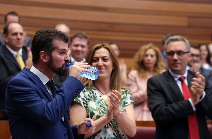 Tudanca asegura que Castilla y León está «en un círculo vicioso» hacia la despoblación