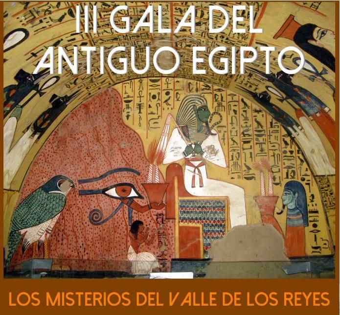 La III Gala del Antiguo Egipto mostrará trabajos basados en el Valle de los Reyes