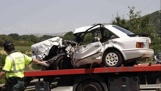 Tres heridos graves en el choque de dos vehículos en Valladolid