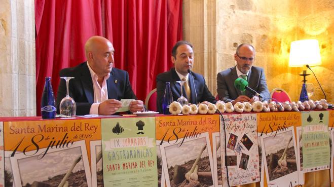 Las IX Jornadas Gastronómicas en toda la provincia abren boca a la Feria del Ajo en Santa Marina del Rey
