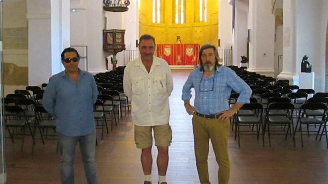 Carlos Herrera visita el Santuario de la Peregrina de Sahagún