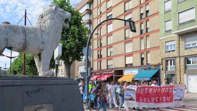 Los autónomos de Embutidos Rodríguez denuncian que las ayudas de Servicarne se reparten por sorteo