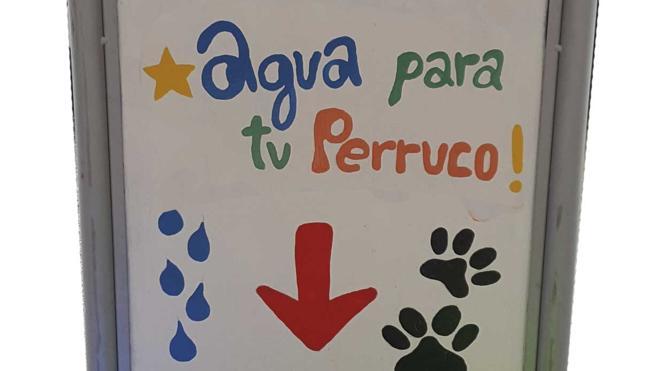 Ciudadanos propone al Concejal de Medio Ambiente sumar San Andrés a la camapaña 'Agua para mascotas'